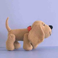 Amigurumi – Dog Collection - Amigurumi Hound Dog - Free Pattern