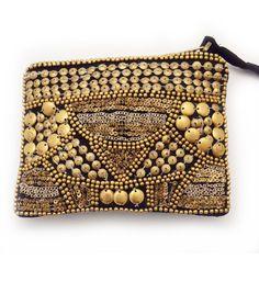 Bolso de mano con tachas - Hand bag with studs