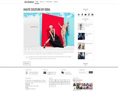 I present to you our latest modern fashion blogger template. High Fashion, minimalist, more sophisticated, and modern. Zee Couture will make our blog more fabulous and professional.