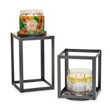 Elevated Jar Holder Pair 50 00 Jar Candle Holder Partylite Party Lite Candles
