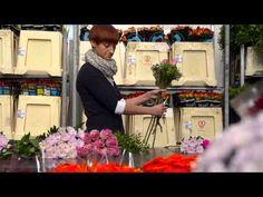 Blumenstrauß binden wie die Profis - Ihre Anleitung von FloraPrima - YouTube