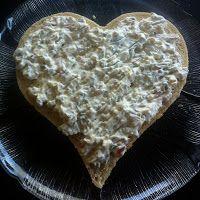Kakebua's blogg: Smørbrødkake Food And Drink, Desserts, Tailgate Desserts, Deserts, Postres, Dessert, Plated Desserts