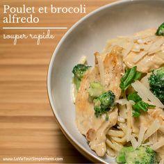 Recette de linguini au poulet et brocoli alfredo - #CuisinezAvecCampbell #ad - www.lavietoutsimplement.com