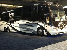High end luxury Motor homes are doing well at the Florida RV Super show in Tampa, Florida.