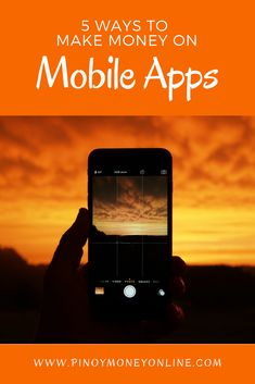 I& show you 5 of the best ways to make money from mobile apps! I& also written ways to make your OWN mobile app WITHOUT coding skills required! Online Earning, Earn Money Online, Online Survey, Survey Sites, Earning Money, Earn Money From Home, Way To Make Money, Money Fast, Money Tips
