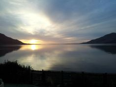 View from home this morning , beautiful Carlingfjord northern Ireland