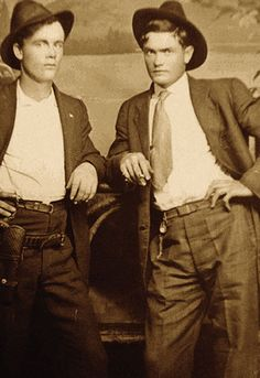 When Greer Gang leader John Franklin Greer (right) found out his friend was being held in the Deming jail, he rode to the San Andres goat camp, where his brother Reynold (left) was tending 1,500 Andora goats. The next day, they rode into town to see if they could free their compadre.
