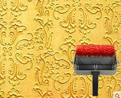 wall decoration painting tools of 7 inch paint roller with roller grip NO.001 design(China (Mainland))