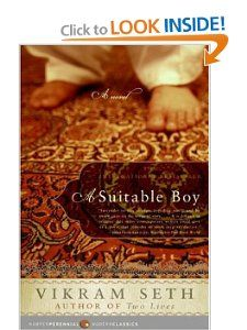 A Suitable Boy: by Vikram Seth Featured in: 50 Writers, 50 Books - The Best of Indian Fiction. Harper-Collins India.