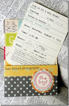 A school theme baby shower where guests are asked to bring a new baby book and fill out a bookplate with a personal note to adhere inside the book! Great baby shower idea! For my own future shower!   Yes, yes, yes, a thousand times yes. This is exactly what I would want my baby shower to be.