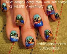Freakin' kidding me.. Camping Nails. Wow.