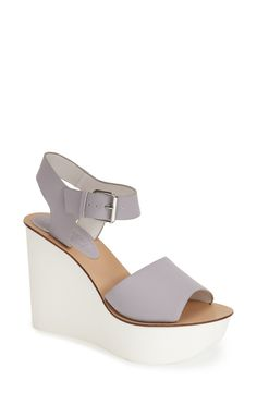 These light purple Topshop sandals would go perfectly with a simple summer dress.