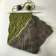 Znalezione obrazy dla zapytania brioche knitting