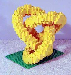 Math, Art, and Design Course Blog: Lego Sculptures