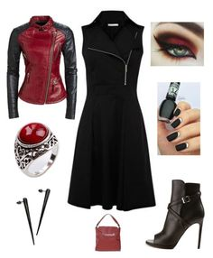 """Be the Kewl Chick"" by im-karla-with-a-k on Polyvore featuring Calvin Klein and Yves Saint Laurent"
