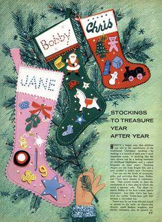 Family Circle Magazine, December 1958.