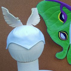 Toddler, Moon Moth Accessories Set, Mask and Wings by CreativeTeesForTots on Etsy