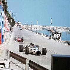years ago today in Monaco, Bruce McLaren fired up his to begin McLaren's first ever race. Maserati, Ferrari, Monte Carlo, Lorenzo Bandini, Jochen Rindt, Bruce Mclaren, Race Engines, Monaco Grand Prix, Automobile