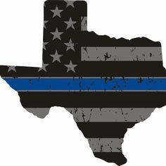 God Bless Texas...Blue Lives Matter.