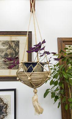 Hanging basket pot Hanging Baskets, Plant Hanger, Plants, Home Decor, Fall Hanging Baskets, Decoration Home, Room Decor, Plant, Home Interior Design