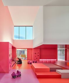 A Colourful Children�s Castle in Buhl, France, by Dominique Coulon & Associ�s | Yatzer