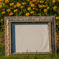 Vintage Hand Pinted Picture Frame by SandtoCityStyle on Etsy