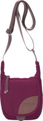Overland Equipment Placer Shoulder Bag Red Violet/Plum Smoke Print - via eBags.com!