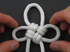 How to Tie Ashley's Flower Knot by TIAT - YouTube