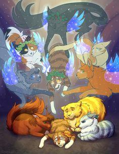 Warrior Cats Funny, Warrior Cats Comics, Warrior Cats Series, Warrior Cats Fan Art, Warrior Cat Drawings, Cat Comics, Warriors Memes, Death Art, Cat Reference