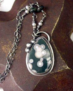Ocean Jasper Necklace Pendant