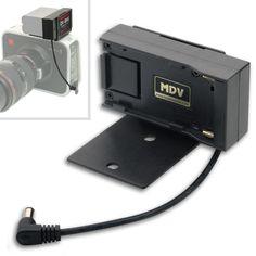 Hawk-Woods Blackmagic Cinema Camera Battery and Camera Adaptor