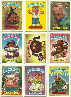 garbage pail kids... these cards bring back memories