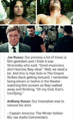 Thank u, Russo brothers (sarcastic for the first part, totally truthful for the last)