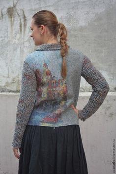 Пиджаки, жакеты ручной работы. Ярмарка Мастеров - ручная работа Валяная куртка Что такое осень. Handmade.
