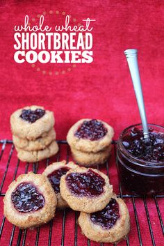 Whole Wheat Shortbread Cookies recipe - Frugal Living NW Almond Meal Cookies, Shortbread Cookies, Tea Cookies, Sweet Cookies, Brownie Recipes, Cookie Recipes, Dessert Recipes, Jama, Kraft Recipes