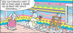 Image detail for -Easter Cartoons, easter painting fail, funny easter cartoon Funny Easter Jokes, Easter Cartoons, Funny Cartoons, Funny Jokes, Hilarious, Funny Easter Pics, Art Jokes, Easter Pictures, It's Funny