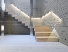 Znalezione obrazy dla zapytania podświetlenie schodów pod balustradą