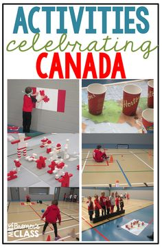 TONS of fun Canada themed activities to celebrate Canada! These hands on activities were done during a Canada unit with Grade One, Grade Two, and Grade Three. Camping Activities, Hands On Activities, Kindergarten Activities, Science Activities, Physical Activities, Multicultural Activities, Dementia Activities, Children Activities, Preschool Themes