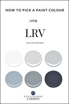 I found these colors with colorsnap visualizer for iphone for Lrv paint color chart