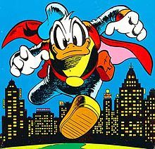 Donald Duck in comics - Wikipedia as Paperinik or the Duck Avenger