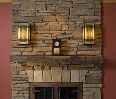 Wall Sconces Fireplace : 1000+ images about Fireplace ideas on Pinterest Sconces, Wall sconces and Fireplace mantels
