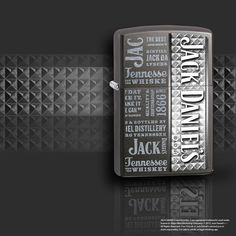 JACK DANIELS ZIPPO !                            ONCE YOU GO JACK YOU NEVER GO BACK!