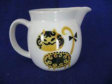 Vintage Arabia, Finland Sugar Bowl, Bowl Set, Finland, Cats, Vintage, Gatos, Kitty Cats, Vintage Comics, Cat Breeds