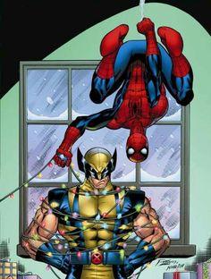 Navidad Marvel