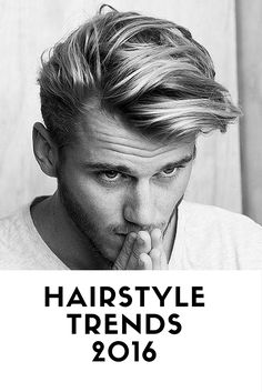 MEN'S HAIRSTYLE TRENDS 2016 >>>…