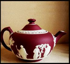 Wedgwood Jasperware Red Tea Pot Wedgewood China Teapots And Cups Cup Saucer