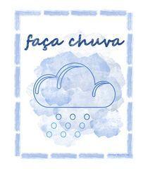 4295078644 Clique na imagem para ver Camiseta Faça Chuva criada por Adriana Marcílio na  Vandal. ✓
