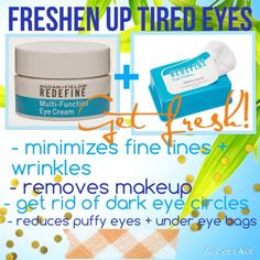 Freshen up your tired eyes with Rodan + Fields!