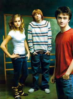 Emma, Rupert and Dan