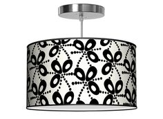 Add a lot of pretty to your #nursery with this unique #Chandelier.  #black #lighting